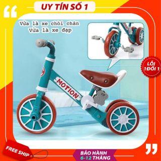 Xe Chòi Chân [MOTION – Mẫu Mới – CỰC XỊN] Tích hợp bàn đạp cho trẻ tập đi xe. Khung Xe Chắc Chắn. Cực bền và đẹp.