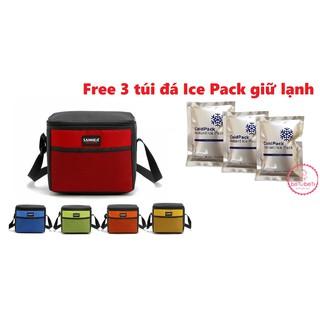 Combo túi giữ sanea kèm 3 đá khô túi ice pack cao cấp