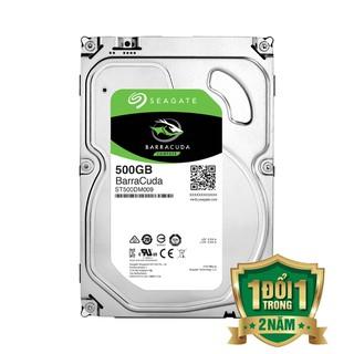 Ổ CỨNG HDD SEAGATE BARRACUDA 500GB SATA 3