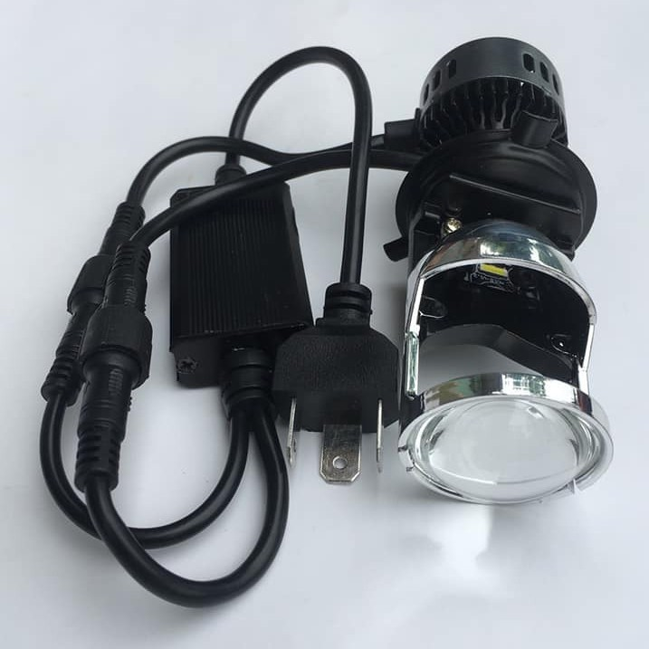 Đèn led bi cầu mini chân h4 M01B giá rẻ, , có video