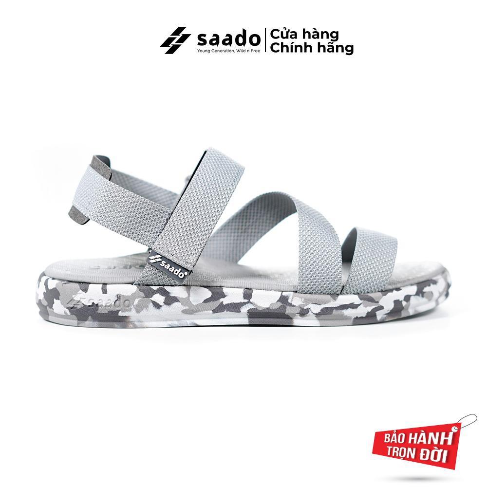 Giày Sandal Saado - Sandal Nữ - Chất lính hoàng gia CL03