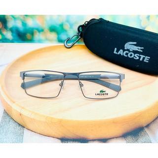 Gọng kính đen xám Lacoste 2896 cho nam