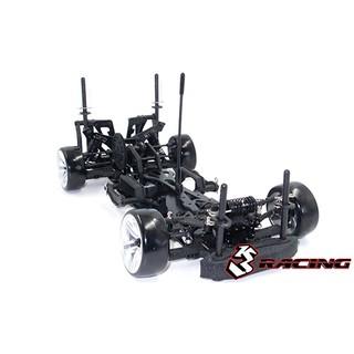 3Racing Sakura D4 AWD/RWD Drift Car Kit – Kit Sakura D4 chính hãng