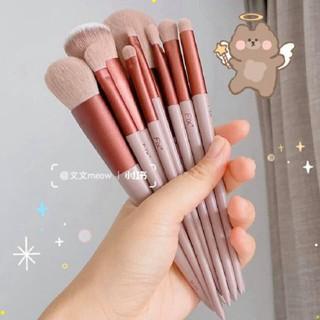 [ bộ 13 cây ] Cọ trang điểm Fix Hồng 13 Cây,bộ Cọ makeup Trang Điểm cá nhân kèm túi đựng MEK thumbnail