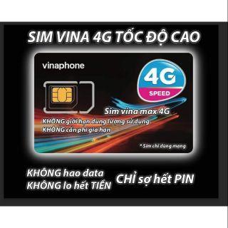 Sim 4g vina max free