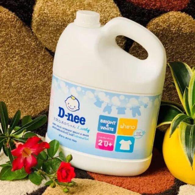 [HCM]- Nước giặt xả dnee trắng 2in1 3000ml Thái lan