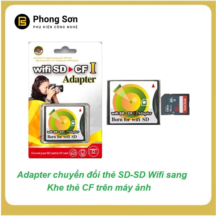 Adapter SD to CF type I ( khe chuyển đổi thẻ SD,SD wifi sang khe thẻ CF )