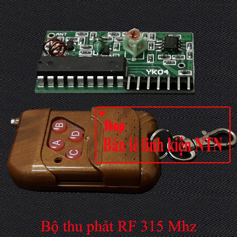 Bộ thu phát tín hiệu từ xa 4 kênh sử dụng tần số 315 Mhz - 3370158 , 1194748477 , 322_1194748477 , 50000 , Bo-thu-phat-tin-hieu-tu-xa-4-kenh-su-dung-tan-so-315-Mhz-322_1194748477 , shopee.vn , Bộ thu phát tín hiệu từ xa 4 kênh sử dụng tần số 315 Mhz