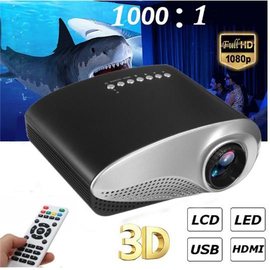 Máy chiếu mini cầm tay – Mini Led projector Giá chỉ 890.000₫