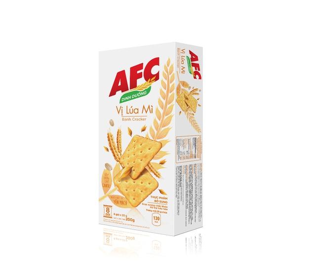 Bánh quy dinh dưỡng AFC vị lúa mì, hộp 200g
