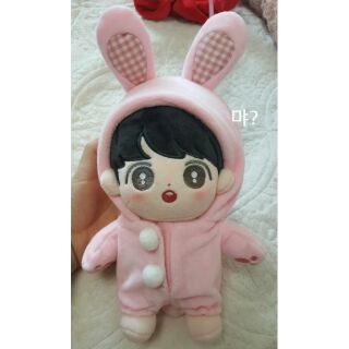 [Có sẵn 1 slot]Fullset Doll BTS Jungkook 20cm hàng fansite