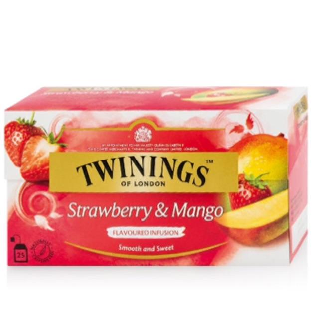 Trà túi lọc vị dâu và xoài Twinings Strawberry & Mango 25 túi - 2490618 , 475412870 , 322_475412870 , 225000 , Tra-tui-loc-vi-dau-va-xoai-Twinings-Strawberry-Mango-25-tui-322_475412870 , shopee.vn , Trà túi lọc vị dâu và xoài Twinings Strawberry & Mango 25 túi