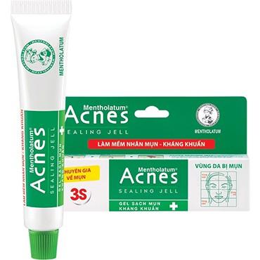 Gel ngừa mụn, kháng khuẩn Acnes Sealing Gel 3S 18g