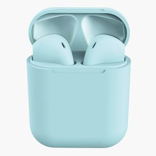Tai nghe GOOJODOQ kết nối bluetooth không dây Inpods12 TWS âm thanh trầm tích hợp micro cho IOS Android