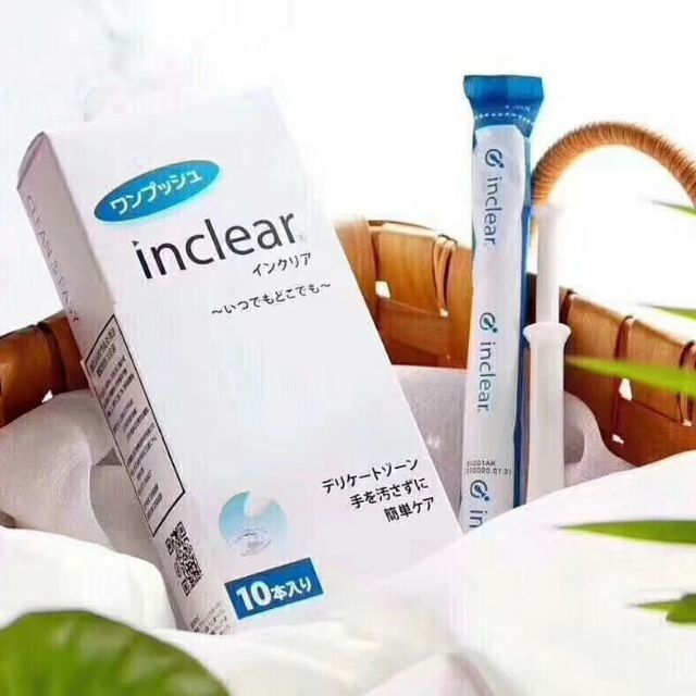 QUE DUNG DỊCH VỆ SINH INCLEAR