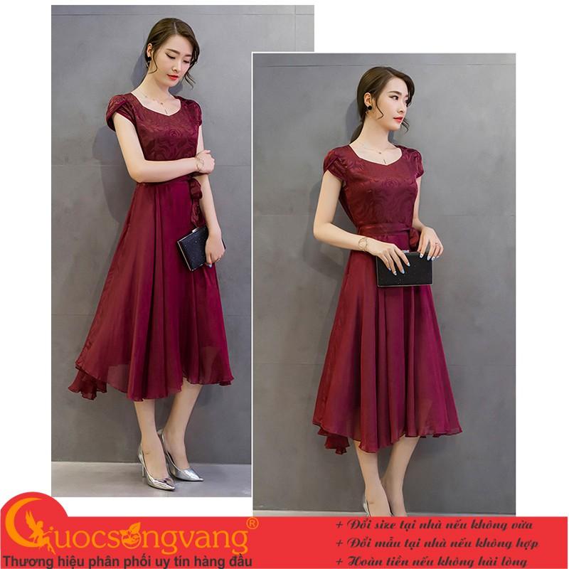 Váy đầm dài big size đầm maxi GLV118