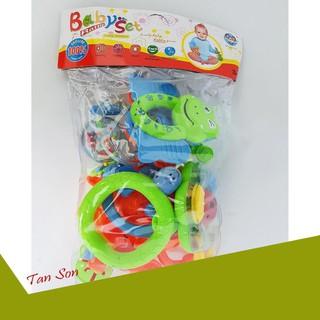 [ƯU ĐÃI LỚN] Bộ đồ chơi xúc xắc 8 món cho trẻ em