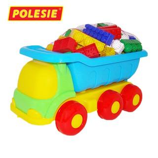 Xe tải đồ chơi kèm bộ lắp ghép 60 chi tiết – Polesie Toys