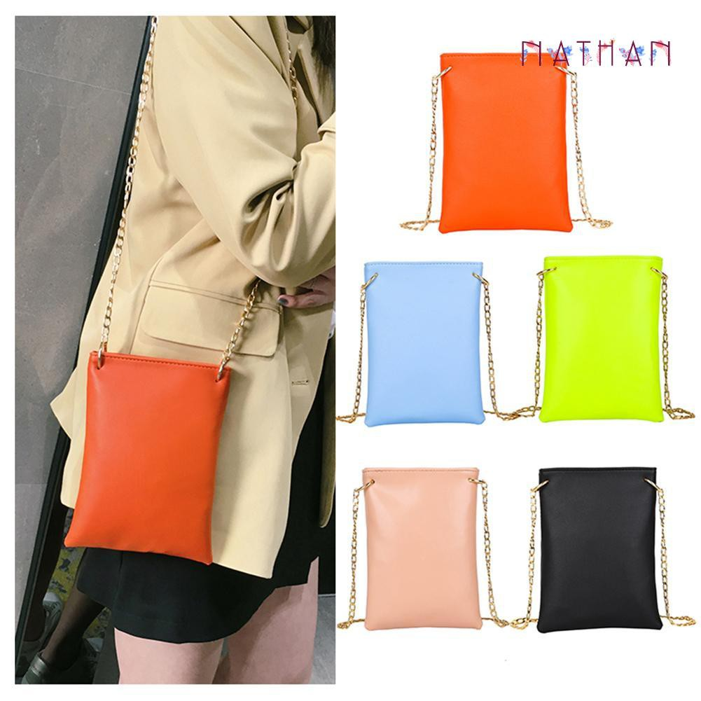 nathan fashion❀Leather Cell Phone Bags Pocket Wallet Pouch Women Bags