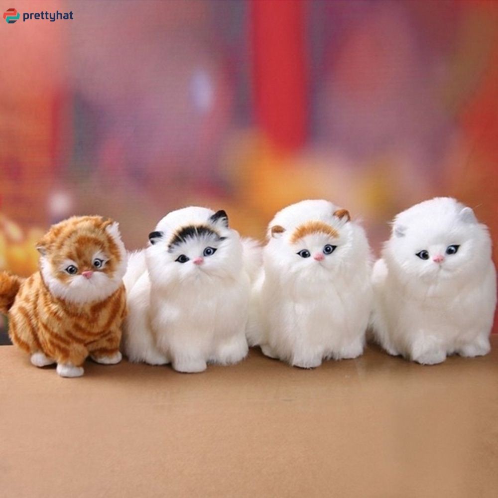 Mèo nhồi bông phát nhạc đáng yêu
