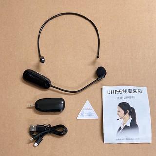 Micro không dây choàng đầu Newgood P11 UHF cho máy trợ giảng và các thiết bị âm thanh
