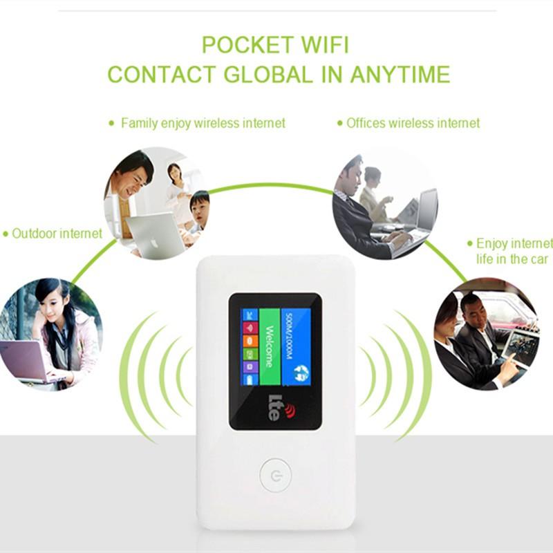 Bộ phát wifii 4G di động Chuẩn 4G LTE NST01 – Tốc độ cao 150Mbps [THANH LÝ MỚI 98% GIÁ RẺ] Giá chỉ 429.000₫