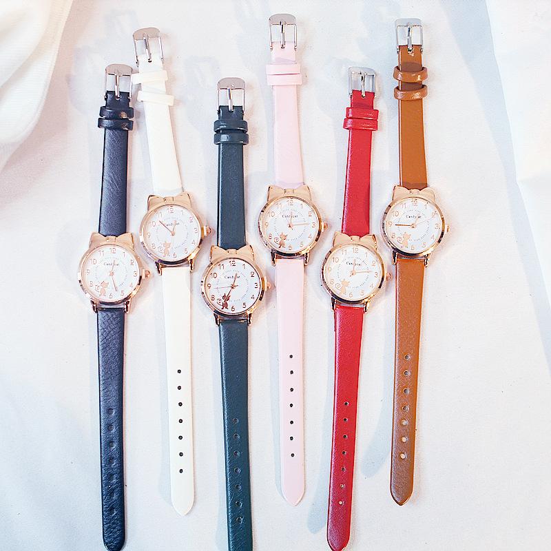 Đồng hồ đeo tay máy thạch anh phối dây silicon kiểu thể thao thời trang cho nữ