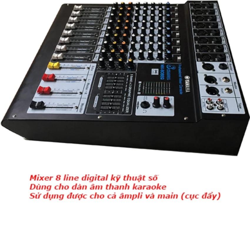 Mixer 8 line Digital kỹ thuật số karaoke