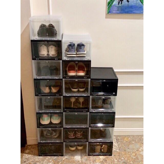 Hộp đựng giầy cao cấp việt nhật, nhựa cứng hàng loại 1