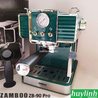 Máy pha cafe Zamboo ZB-90 Pro – 15 bar – Tặng 500gr cf nguyên chất