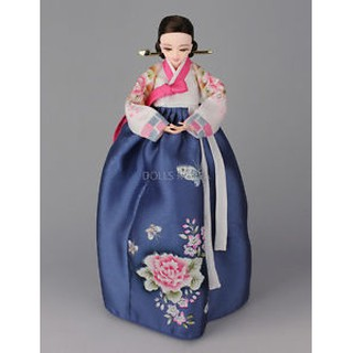 Váy Hanbok Cao Cấp Cho Búp Bê