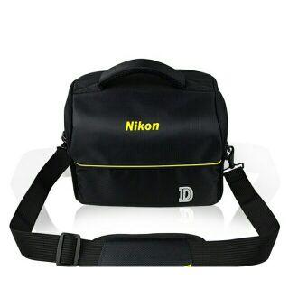 Túi đựng máy ảnh NIKON D kẻ ngang