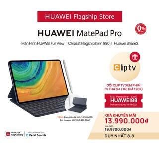 Máy tính bảng Huawei MatePad Pro (6GB/128GB) | Kèm bút cảm ứng Huawei M-Pencil + bàn phím
