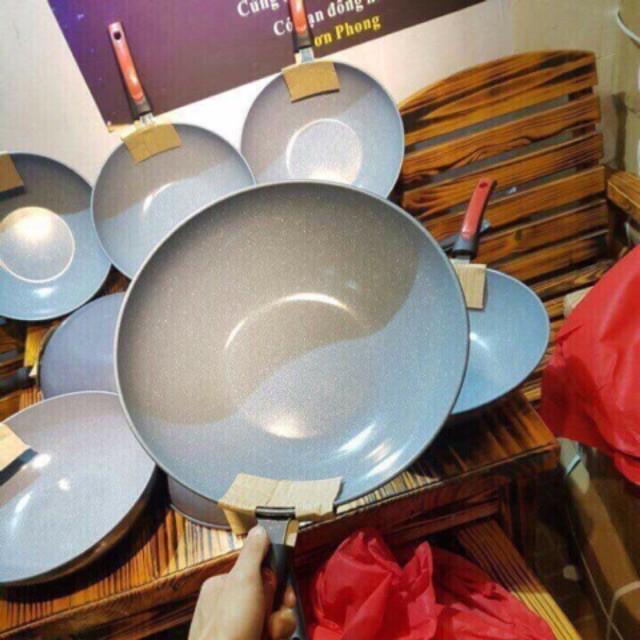 Chảo Sâu Lòng Vân Đá Chống Dính Ceramic 32cm Dùng Được Tất Cả Loại Bếp - 13899461 , 1848729884 , 322_1848729884 , 69000 , Chao-Sau-Long-Van-Da-Chong-Dinh-Ceramic-32cm-Dung-Duoc-Tat-Ca-Loai-Bep-322_1848729884 , shopee.vn , Chảo Sâu Lòng Vân Đá Chống Dính Ceramic 32cm Dùng Được Tất Cả Loại Bếp