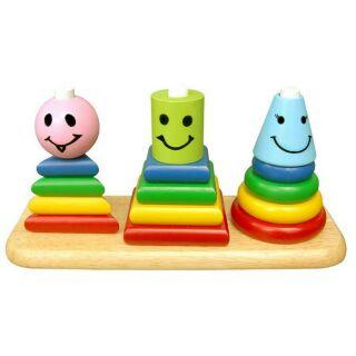 Xếp hình 3 trụ winwin toy