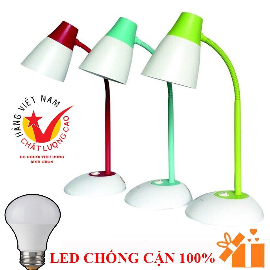 [CAM KẾT] Đèn bàn Molik Việt Nam + bóng LED chống cận 100% bảo hành chính hãng 2 năm