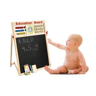 Bảng chữ số 2 mặt giúp bé thông minh [DLS]