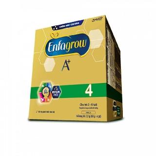 [10/2021]Sữa bột Enfagrow A+ 4 (hộp 2.2kg – 4 túi thiếc 550g)