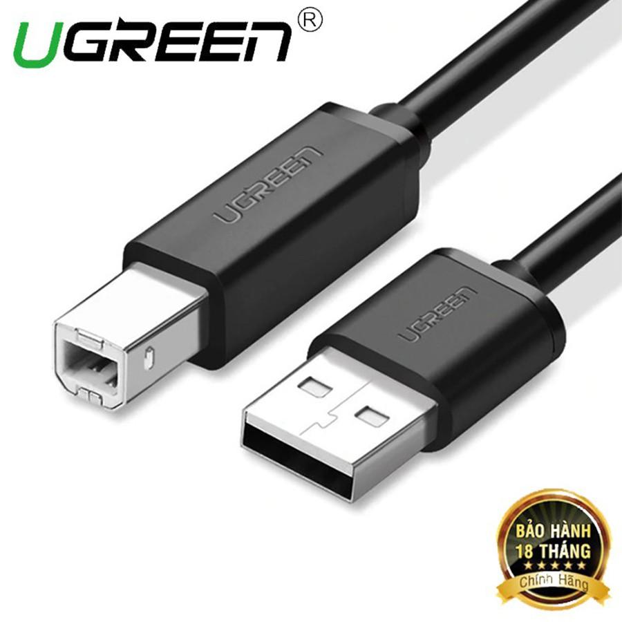 Cáp máy in Ugreen 10845 10327 US104 chuẩn USB 2.0 cao cấp - HapuStore