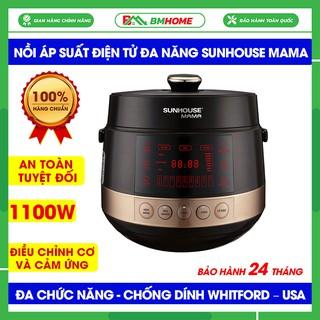 Nồi áp suất điện tử đa năng Sunhouse 5L SHD1585B, Nồi áp suất đa năng Sunhouse Mama 5Lít, an toàn tuyệt đối -BH 12 tháng thumbnail