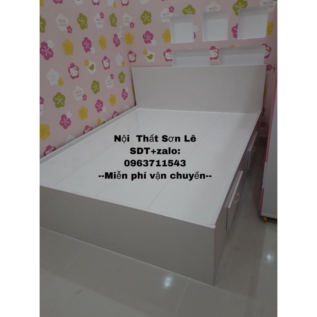Giường ngủ chất liệu nhựa giá rẻ freeship