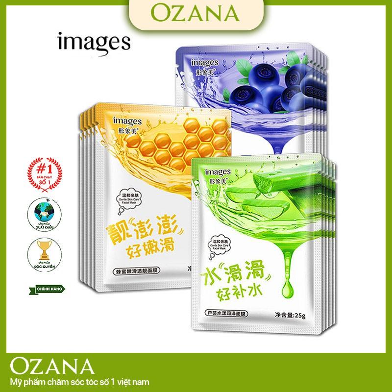 Mặt nạ giấy dưỡng da cấp ẩm trắng da Images hàng nội địa trung chính hãng CS27