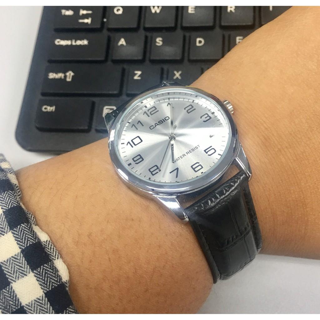Đồng hồ nam chính hãng Casio Anh Khuê MTP-V001