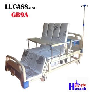 Giường bệnh nhân chạy điện đa chức năng Lucass GB9A