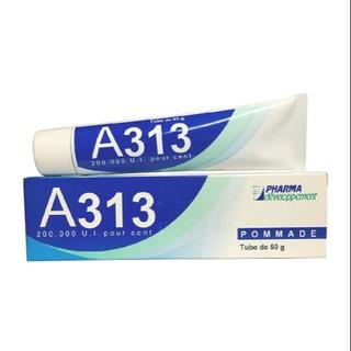 Kem dưỡng A313 Pommade Retinol diệt mụn mờ thâm chống lão hóa PHARMA Developpement Pháp 50g