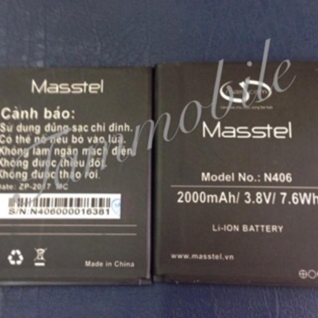 Pin điện thoại Masstel N406