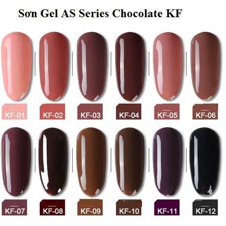 Sơn Gel AS Series Chocolate KF