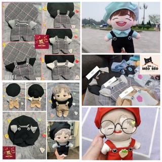 (Ord) Set áo yếm mũ doll
