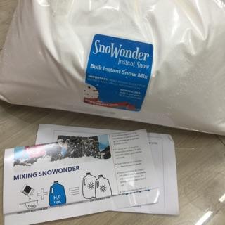Tuyết SnoWonder 10gr -20gr -50gr – 100 gr