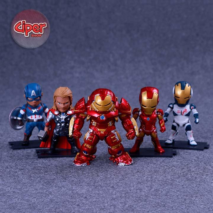 Bộ 5 nhân vật The Avengers